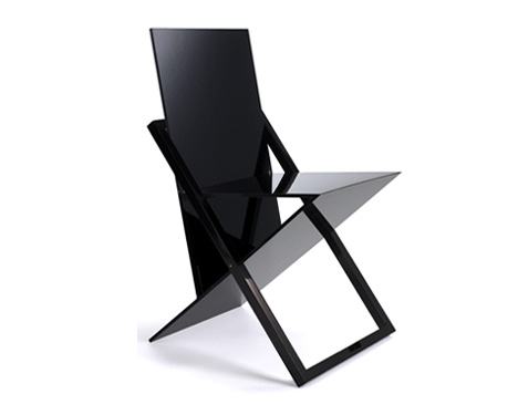 ISIS – World's Thinnest Chair by Jake Phipps