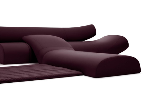 Lava Sofa Upholstered Seating System By Studio Vertijet