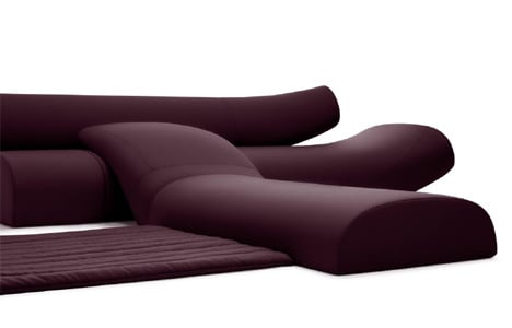 Lava Sofa Upholstered Seating System By Studio Vertijet Yanko Design