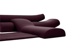 Lava Sofa - Upholstered Seating System by Studio Vertijet