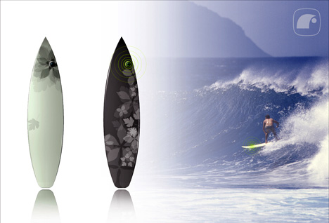 Radio Built-in Surfboard by Lenart Studios