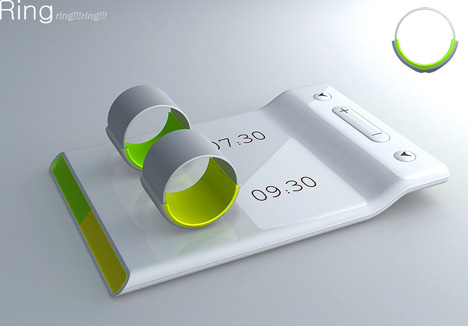 Couples Ring - An Alarm That Doesn't Disturb Partner