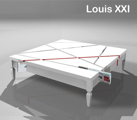 Louis XXI Table Makes A Social Statement