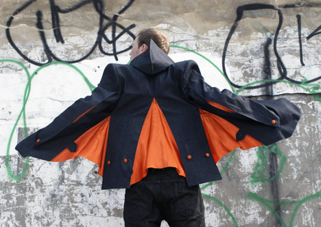 Courtship Jacket Looks Like Batman's Cousin