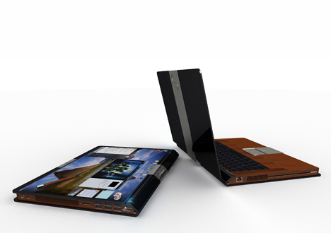 Tablet PC Made Of Wood