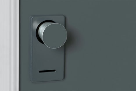 The Doorknob Signal Yanko Design