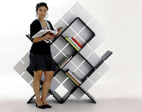 A Bookshelf As Easy As Legos
