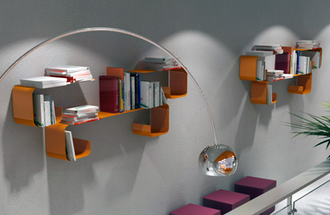 Dimensional Shelves