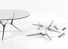 E_Volve_Table by Timothy Schreiber