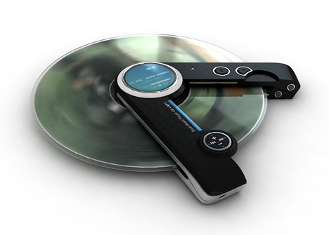 Dual Music Player That Plays Your MP3 Collection & Your CDs