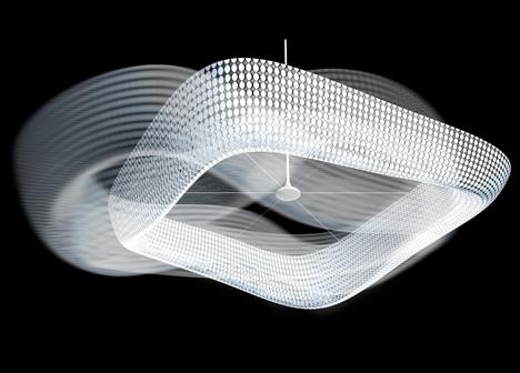 Swarovski Morpheus Chandelier by Yves Behar