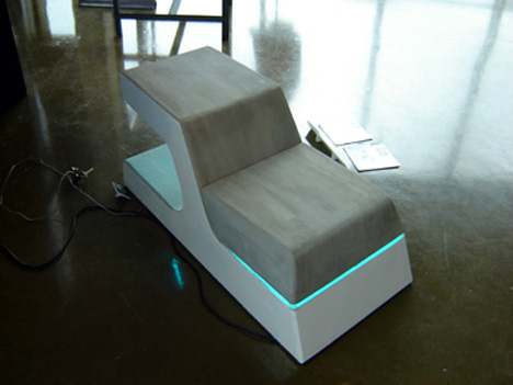 Backbreaking Chair Summons Star Trek Style