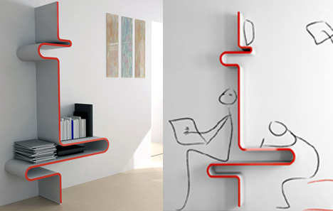 What's Your Pleasure, Shelving Or Desk?