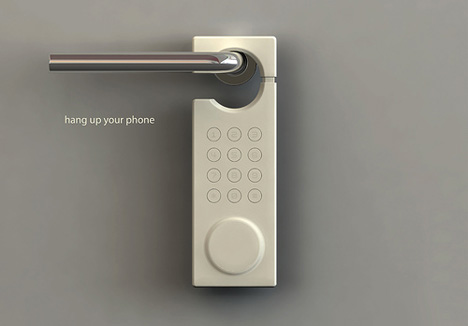 A Phone That Really Hangs Up