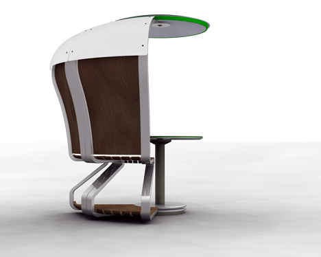 Mobile Workspace for Public Spaces