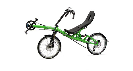 GrassHopper The Folding Recumbent Bike
