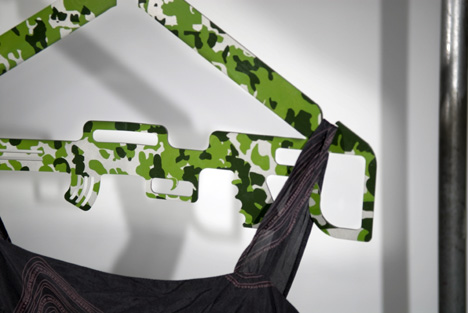 Military Like Hangers