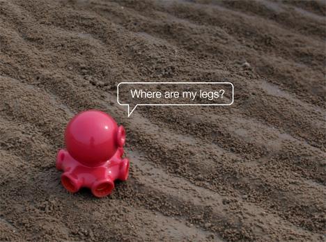 Help An Octopus Find His Legs