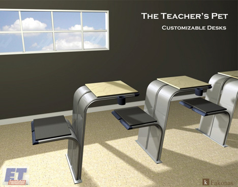 A Better School Desk