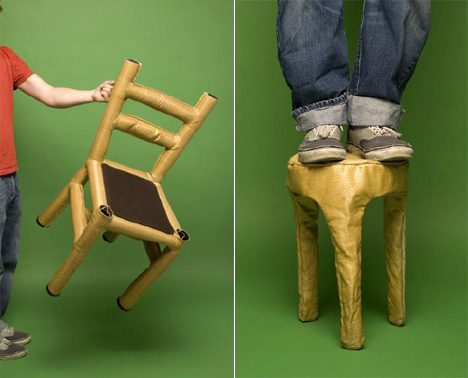 Stitched Chair by Henny van Nistelrooy