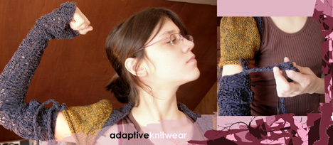 Adaptive Knitwear