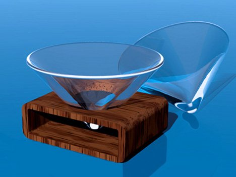 Mingle Martini Glass
