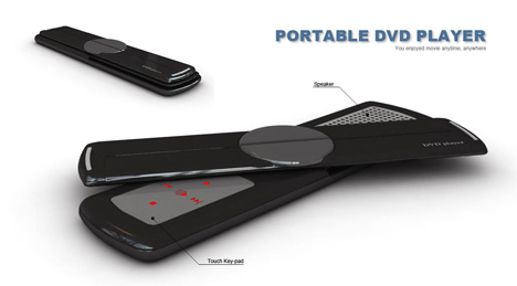 Portable DVD Player That Plans On Using Flexible Full-color OLED