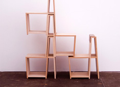 Stacking Chairs Into Shelves
