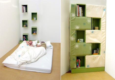 Bookcase Into A Bed