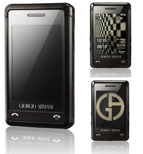 Giorgio Armani Credit Card-sized Samsung Phone