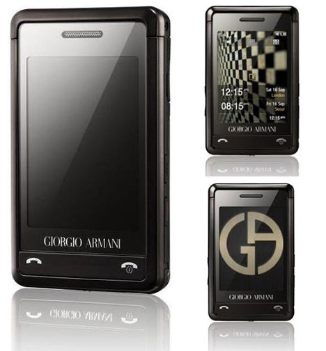 Giorgio Armani Credit Card-sized Samsung Phone