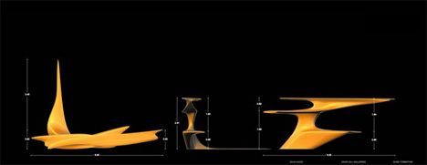 Dune Formation Furnitures