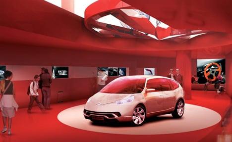 C42 Car Showroom Yanko Design