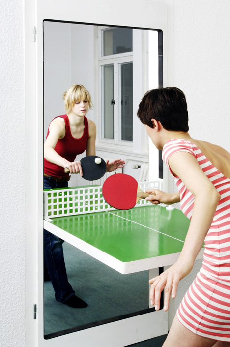 Ping Pong From A Doorway