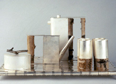 Birch-wood Coffee Set