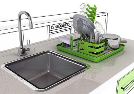 Modular Dish Drainer