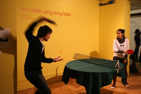 Any Table Can Be Ping-pong Table