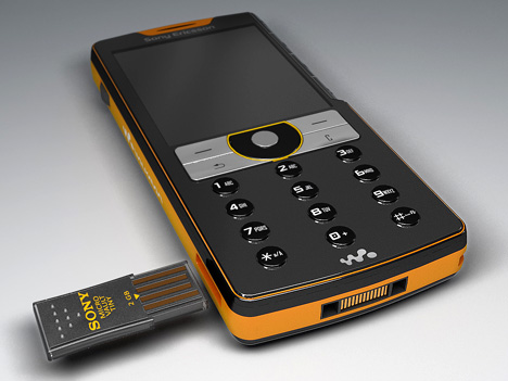 Sony Ericsson Plays Nice With Thumb Drives