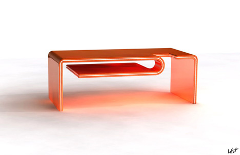 he Vetro coffee table