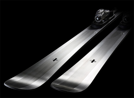 First Ever Stone Skis