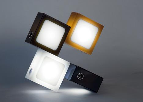 Twist Together Lamp Is Hackerish