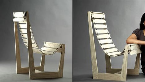 Hot Crossed Chair