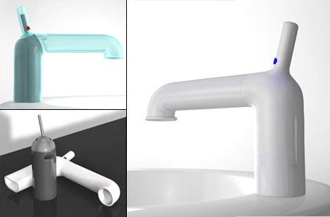 A Flexible Faucet For the Bathroom