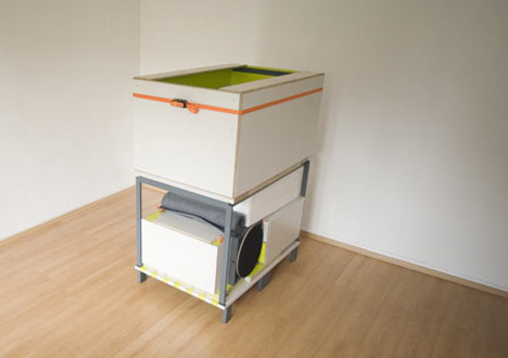 Pin. Bedroom in a box   Yanko Design