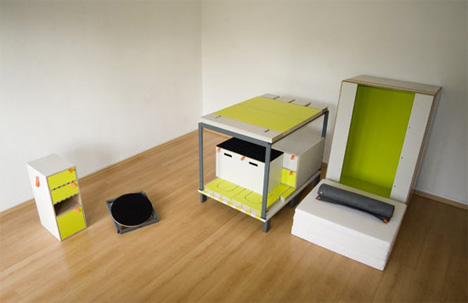 Bedroom in a box yanko design - Room in a box casulo ...