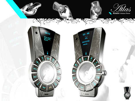 Kinetic Cell Phone