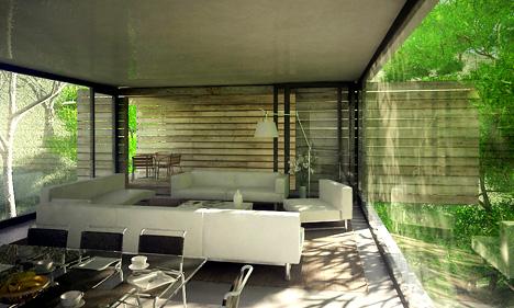 Casa ecol gica con madera es cuesti n de madera - Casas ecologicas de madera ...
