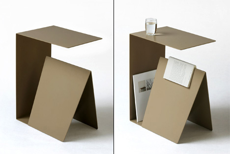 Habitual Bedside Table » Yanko Design