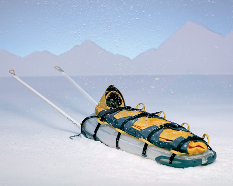 Inflatable Sled To The Rescue