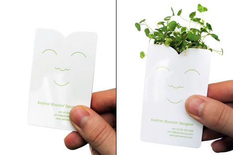 Mother Nature's Business Card